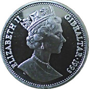 14 ECUS - Elizabeth II (Sir Winston Churchill; Piedfort) -  obverse