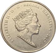 5 Pence - Elizabeth II (1967 Referendum Anniversary) – obverse