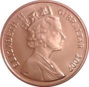 2 Pence - Elizabeth II (Diamond Wedding) – obverse