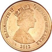 1 Penny - Elizabeth II (3rd portrait) – obverse