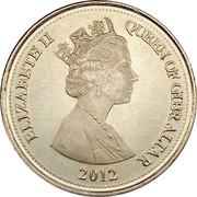 10 Pence - Elizabeth II (3rd portrait) – obverse