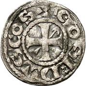 Denier - Geoffroi II seigneur de Doncy - Comté de Gien – obverse