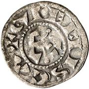 Denier - Geoffroi II seigneur de Doncy - Comté de Gien – reverse