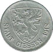 50 Pfennig - Giessen – obverse
