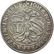 1 Thaler - Johann of Pernstein – obverse