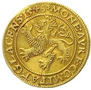 1 Ducat - Johann of Pernstein – reverse