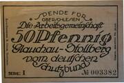 50 Pfennig (Deutscher Schutzbund Glauchau-Stollberg) – obverse
