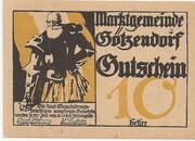 10 Heller (Götzendorf) -  obverse