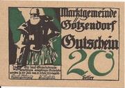 20 Heller (Götzendorf) -  obverse