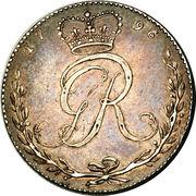 ½ Ackey - George III – obverse
