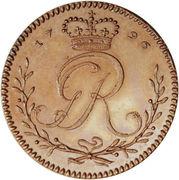 1 Tackoe - George III (Trial Strike) – obverse