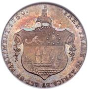 ½  Ackey - George III (Trial Strike) – reverse