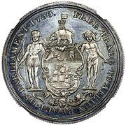 1 Ackey - George III – reverse