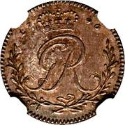 1 Tackoe - George III – obverse