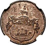 1 Tackoe - George III – reverse