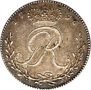 ¼ Ackey - George III – obverse
