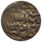 """Dirham """"Dang"""" - Jani Beg Khan - 1341-1352 AD (Saray al-Jadida mint) – reverse"""