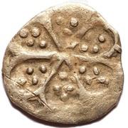 Anepigraphic dirham - Ornamental type (Bulghar mint) – reverse
