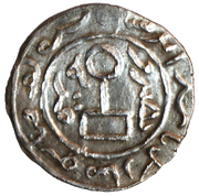 "Dirham ""Yarmag"" - Anonymous issue, temp. Berke Khan (Qrim mint) – reverse"