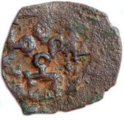 "Pul ""4 tamghas"" Anonymous (Qrim mint) – obverse"