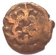 Pul - temp. Jani Beg Khan - flower type (Saray al-Jadida mint) – reverse