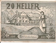 20 Heller (Goldwörth) -  obverse