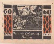 60 Heller (Golling) – obverse