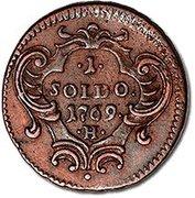 1 Soldo - Maria Theresa – reverse