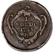 1 Soldo - Joseph II – reverse