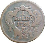 1 Soldo - Leopold II – reverse