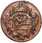 1 Soldo - Francesco II – obverse