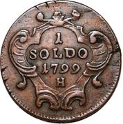 1 Soldo - Franz II – reverse