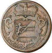 2 Soldi - Carlo VI – obverse