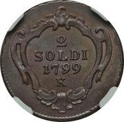 2 Soldi - Franz II – reverse