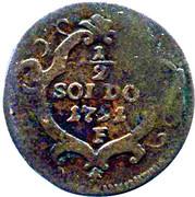½ Soldo - Leopoldo II – reverse