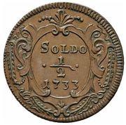 ½ Soldo - Carlo VI – reverse