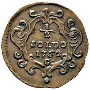½ Soldo - Maria Theresa – reverse