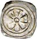 1 Pfennig - Albert II (Obervellach) – obverse