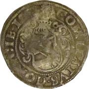 ½ Batzen - Maximilian I / Charles V (St Veit for Görz) – reverse
