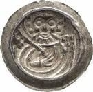 1 Pfennig (Matthiaspfennig) – obverse