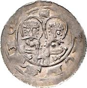 1 Pfennig - Heinrich V. – reverse