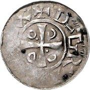 1 Denar - Otto III – obverse