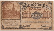 10 Heller (Gossam) – obverse
