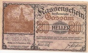 20 Heller (Gossam) – obverse