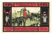 50 Pfennig (Wachsenburg-Komitee) – obverse