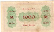 1,000 Mark – reverse