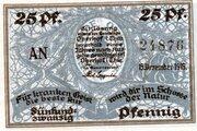 25 Pfennig (Oberhof) – obverse