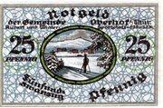 25 Pfennig (Oberhof) – reverse