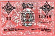 50 Pfennig (Oberhof) – obverse