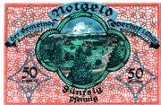 50 Pfennig (Oberhof) – reverse
